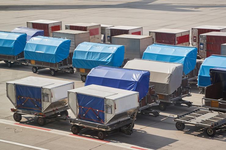 航空輸送専用の搭載用具「ULD(ユニット・ロード・デバイス)」