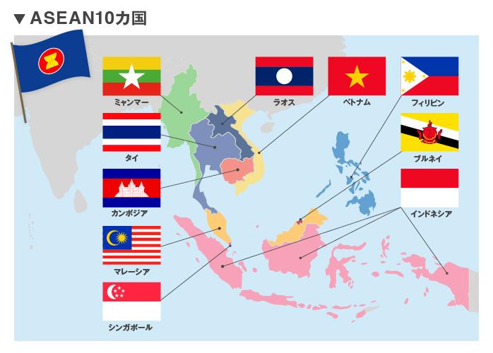 アジア圏において存在感を増して...