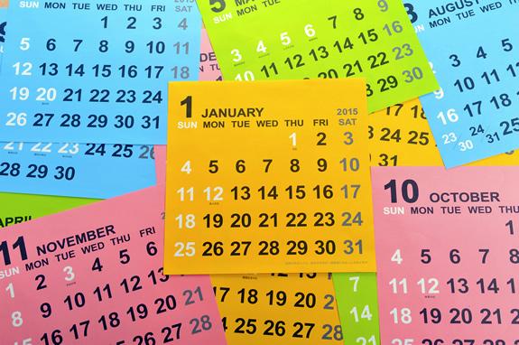 【英語】知っておくべき日付・曜日の記載ルールと省略表記
