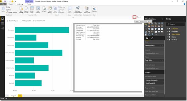 Power BI Desktopのチャートの数字を表示したいときは?