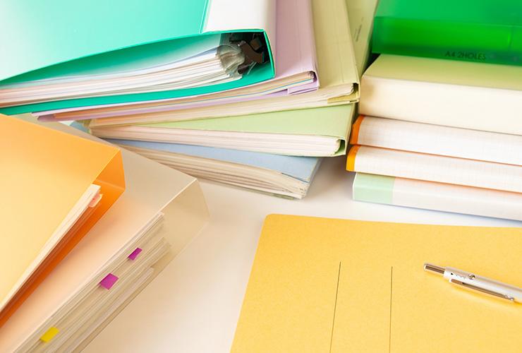 経理業務で山積みの書類を作らない!仕事ができる人の書類整理術