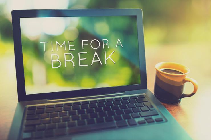 定期的に「作業休止時間」を取るお仕事も存在する