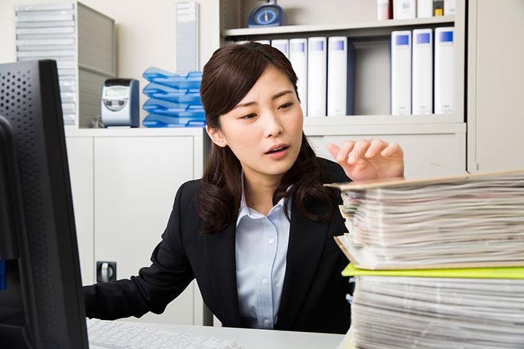 実態②職場によってお仕事の忙しさはさまざま