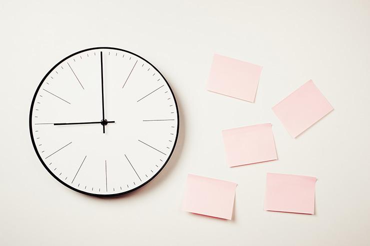 生産性を高めるためには「作業量と時間の管理」が大切
