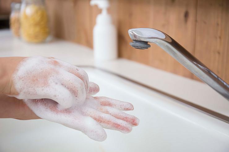 対策①予防の基本は、手洗い・うがい・マスク着用!